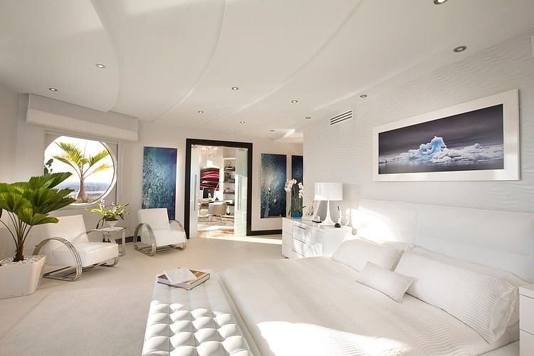 Luxurious modern penthouse located in Miami, Florida, designed by ...