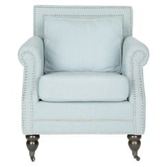 Safavieh Salt Springs Club Chair - Blue