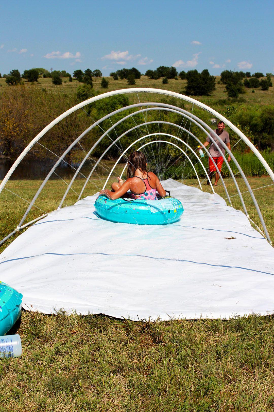 Amazing DIY Slip 'n Slide - Welcome To Nana's | Outdoor ...