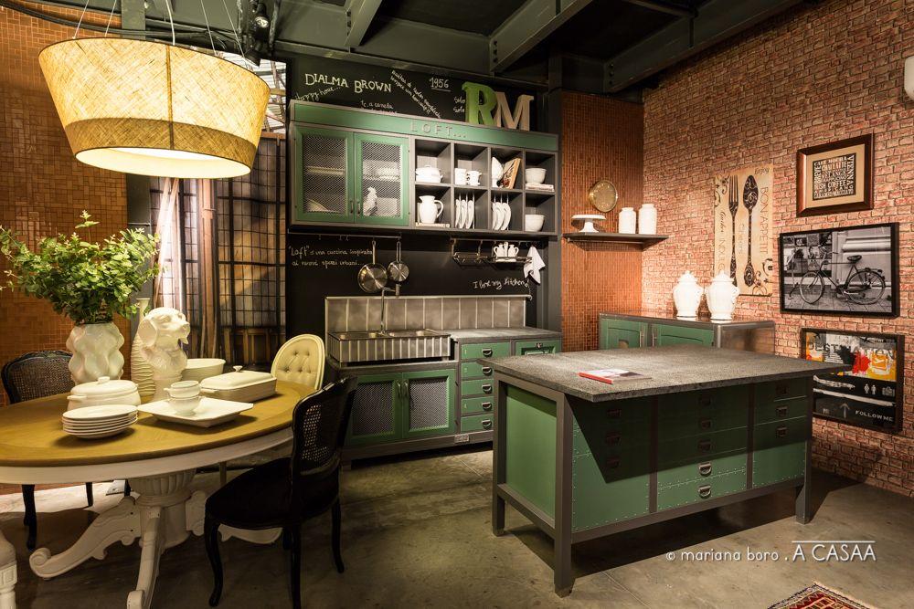 cozinha e jantar dialma brown e marchi cucine