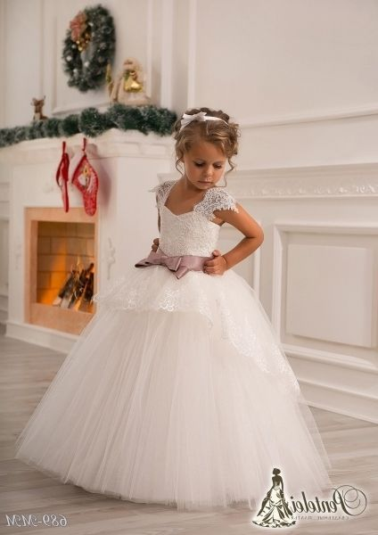 Exceptional Wedding Dress For Baby Girl For Sale