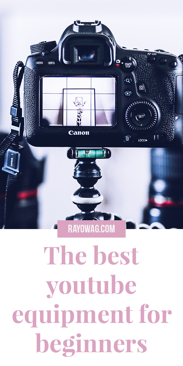 The Best Youtube Equipment For Beginners Rayowag In 2021 Youtube Marketing Youtube Channel Ideas Start Youtube Channel