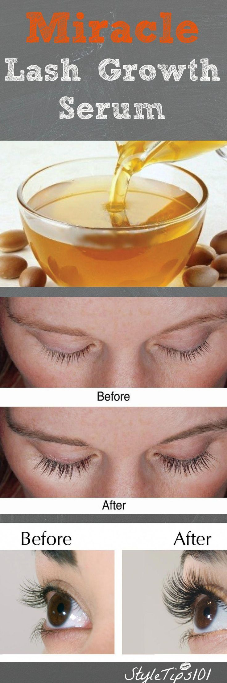 Coconut oil castor oil miracle growth makeuptips