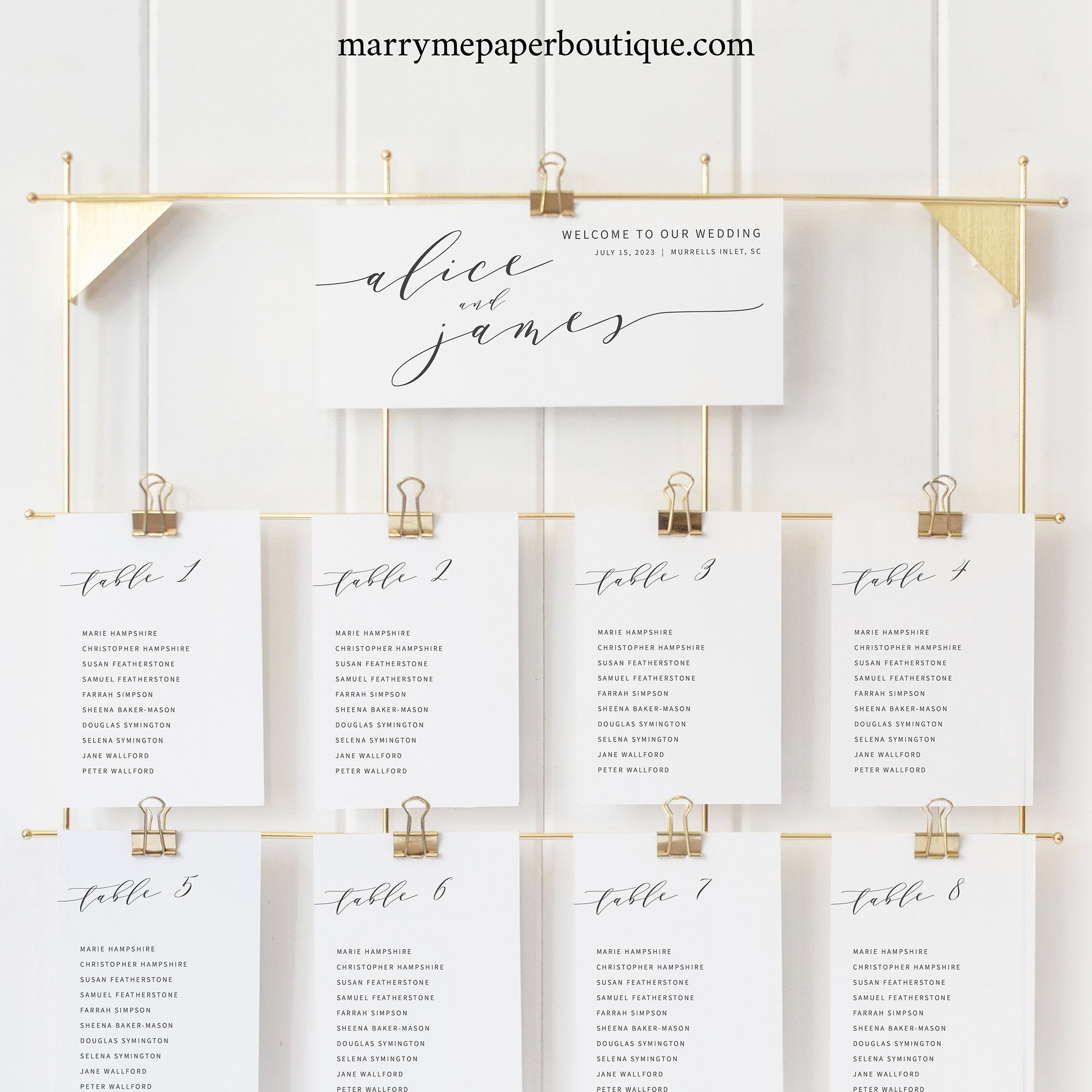 Elegant Seating Cards Template Modern Wedding Seating Chart Etsy Seating Chart Wedding Wedding Seating Wedding Modern