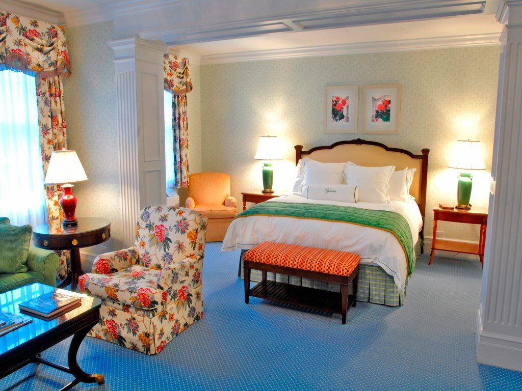 Gorgeous guest room at the greenbrier resort white sulphur springs wv