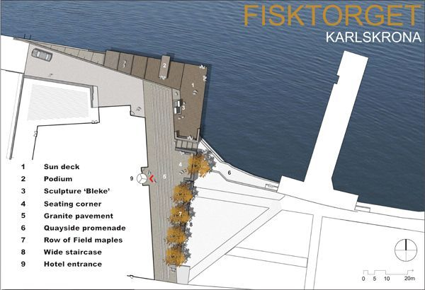 landarchs.com - How The Fish Market Plaza Revamped This Forgotten Site - Landscape Architects Network