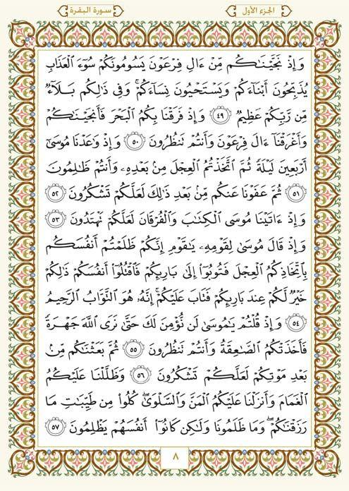 2 سورة البقرة Al Baqara مصورة من المصحف الشريف Hosting Services Web Hosting Services Holy Quran