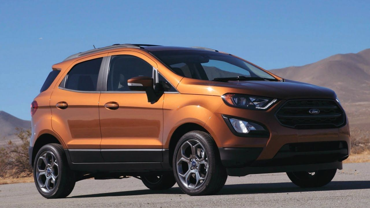 2018 Ford Ecosport Interior Exterior Concept Sports Utility Vehicles Still Manage The Current Market In Every Shap Ford Ecosport Ford Sport Utility Vehicle