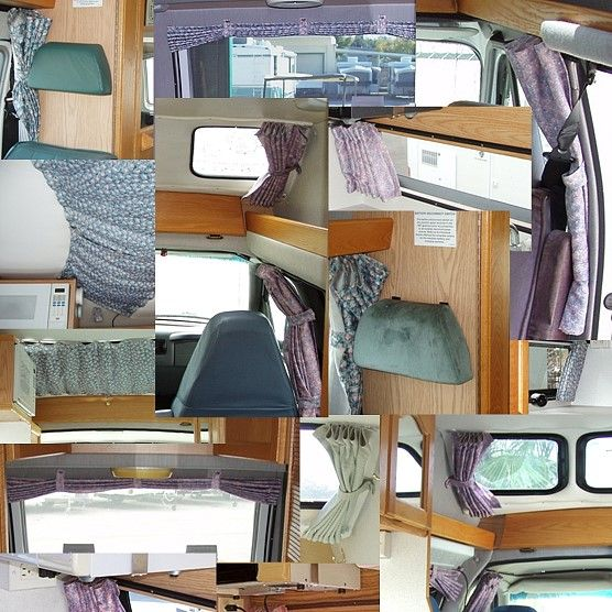 Roadtrek Curtains - Click To Enlarge