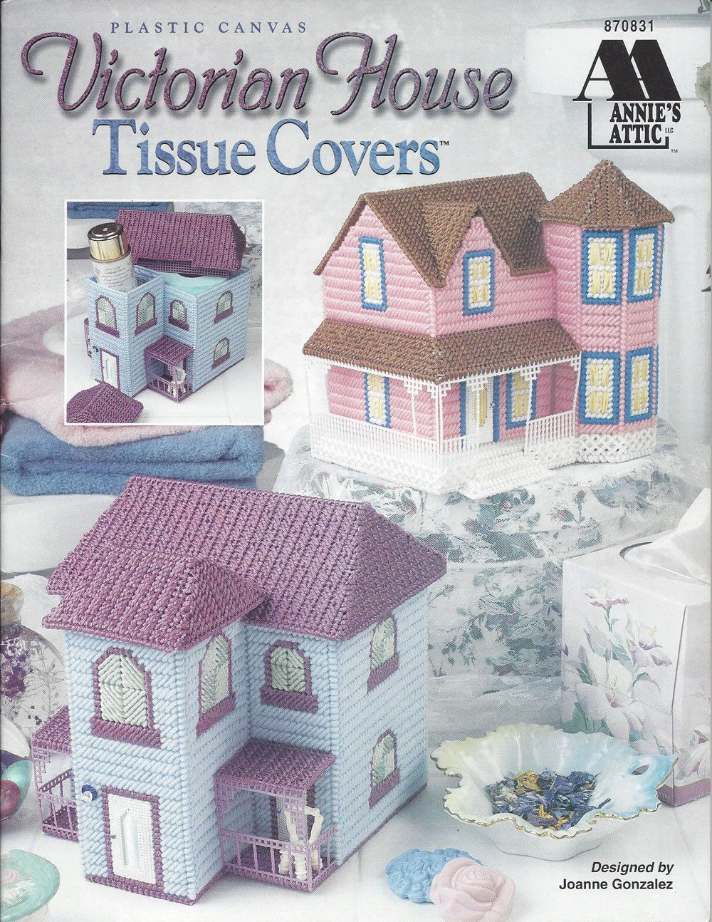 Plastic Canvas Pattern Book Victorian House by KnitKnacksCreations ...