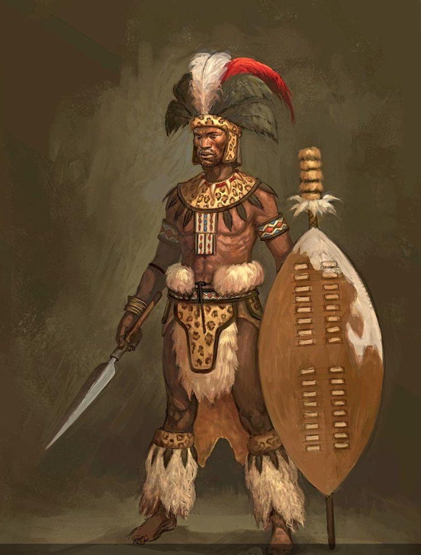 latest (855×1125) | Refrence | Zulu warrior, Zulu, African art