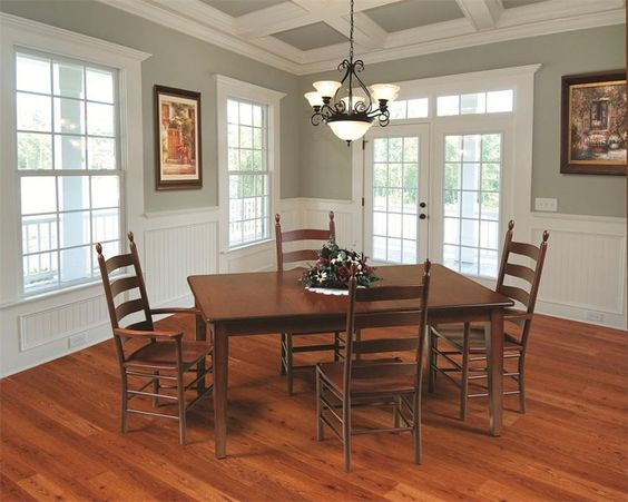 Shaker Style Dining Room Table Dining Room Chairs Modern Dining