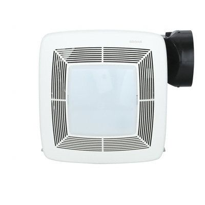 Broan QTX Series Quiet 150 CFM Ceiling Exhaust Bath Fan With Light And  Nightlight, ENERGY
