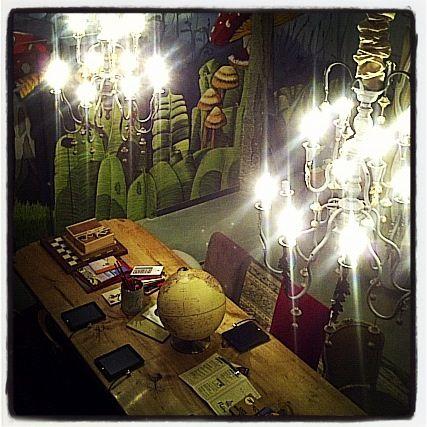Café Pudding... salido de un cuento de hadas...