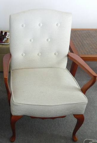 Grey chair before
