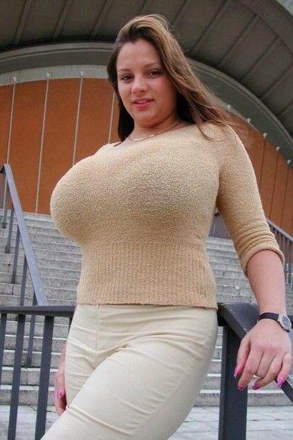 Busty latino girls in sweaters