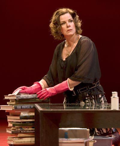 Marcia Gay Harden as Veronica - LA Production.  Talked to Marcia after seeing the play 'God of Carnage'.  Her brother was home on leave and was with her.
