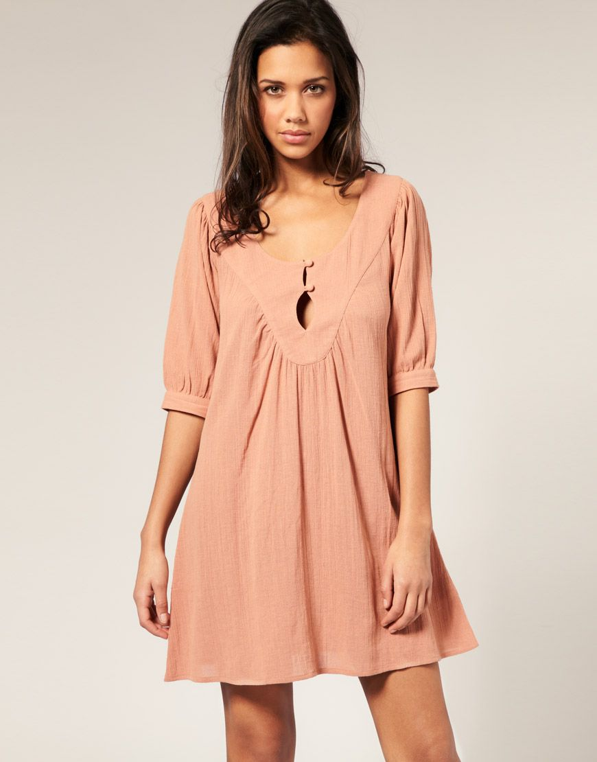 f33d5dc2a8 asos cheesecloth tunic dress