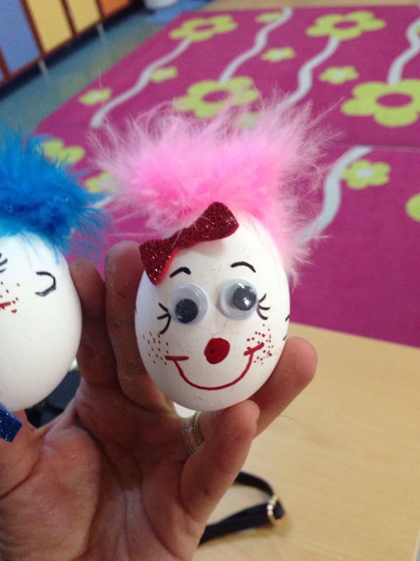 Okul Oncesi Yumurta Suslemeleri Suslemeler Faaliyetler