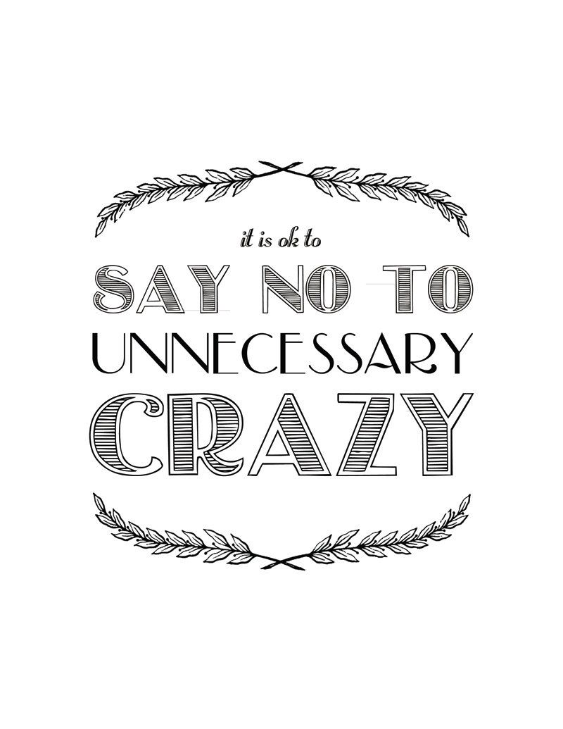 A Good Reminder For My Dayprintable Quote Typography