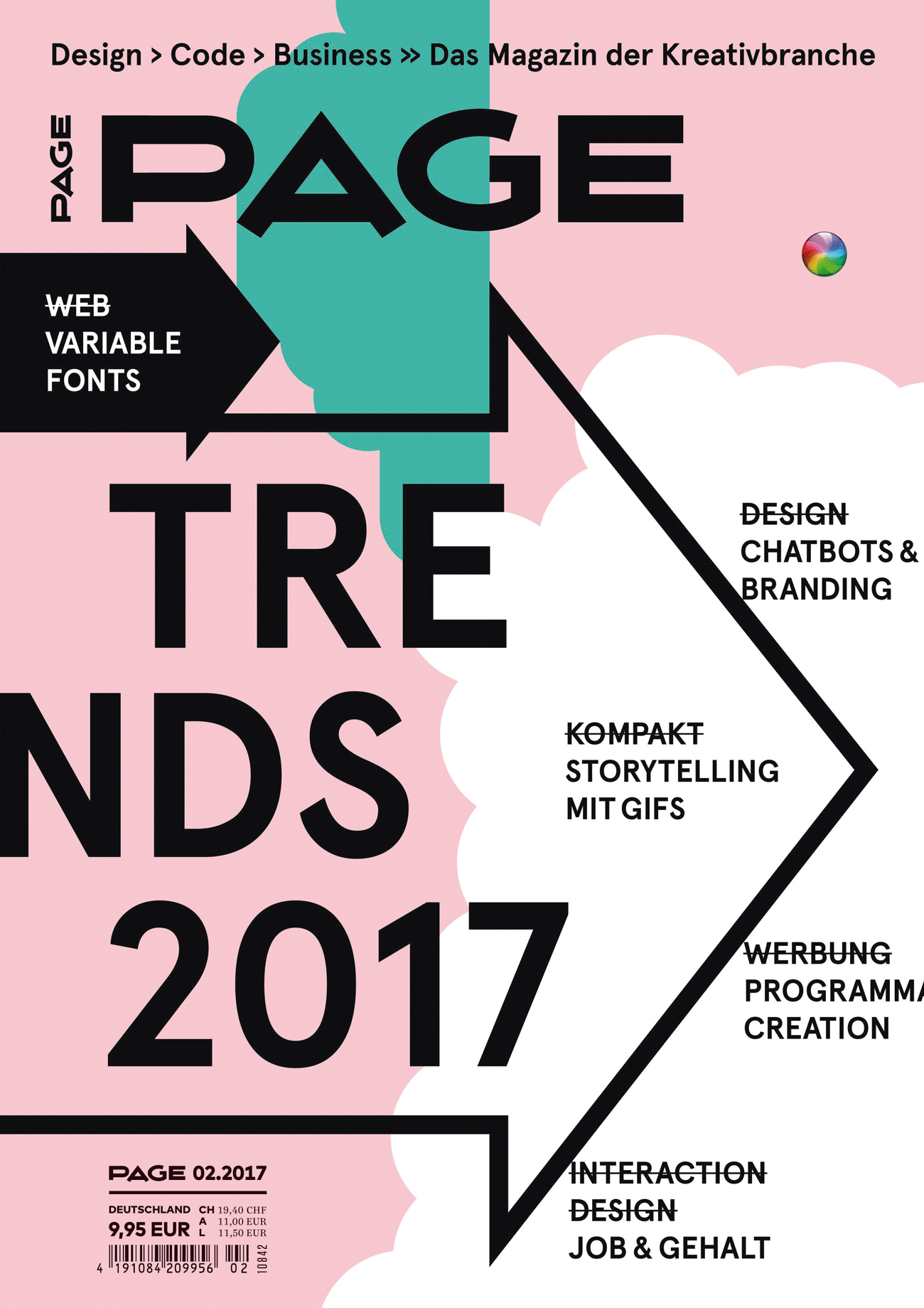 Infografik Design Trends 2017