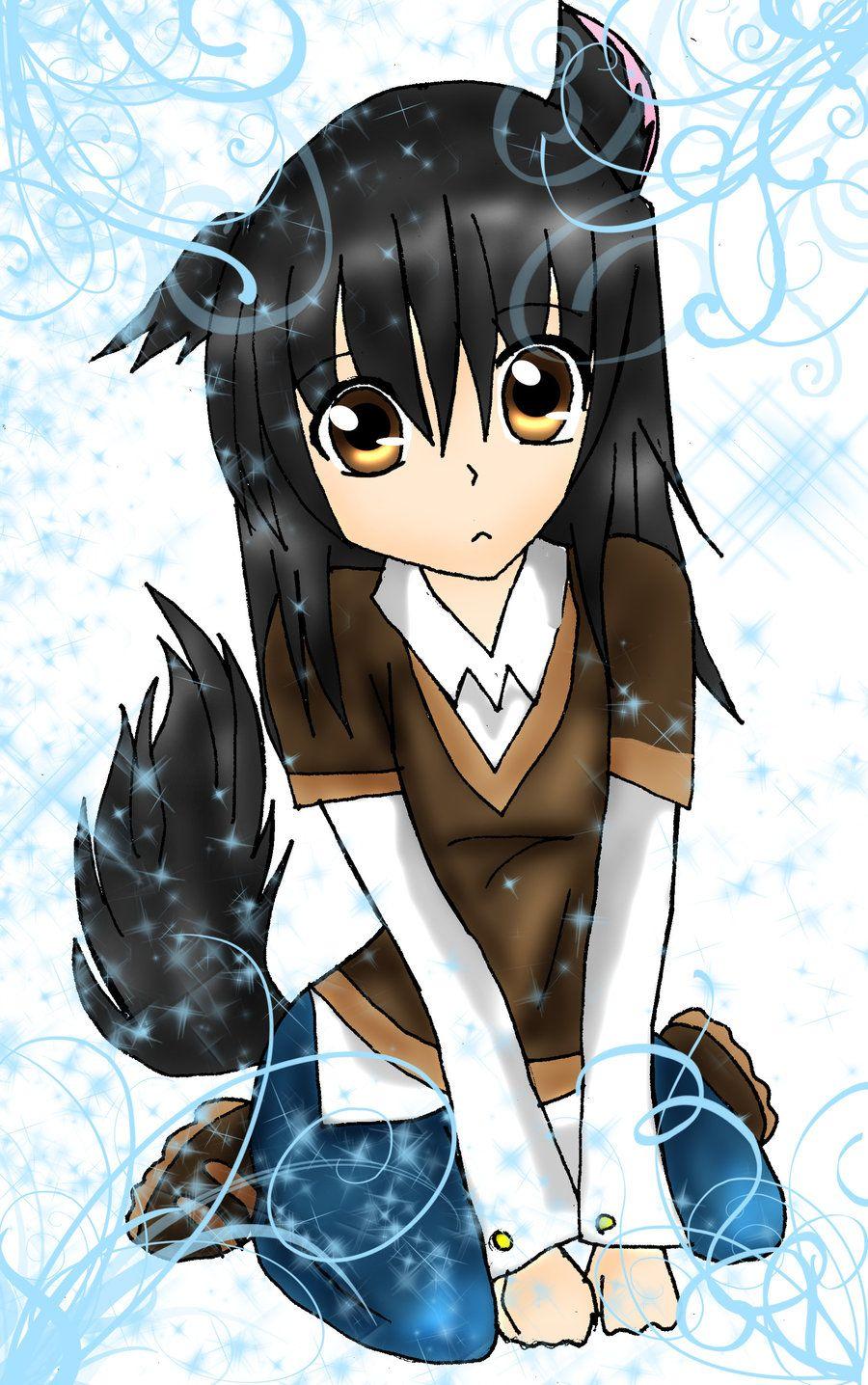 wolf girl anime Google Search Random fan made art