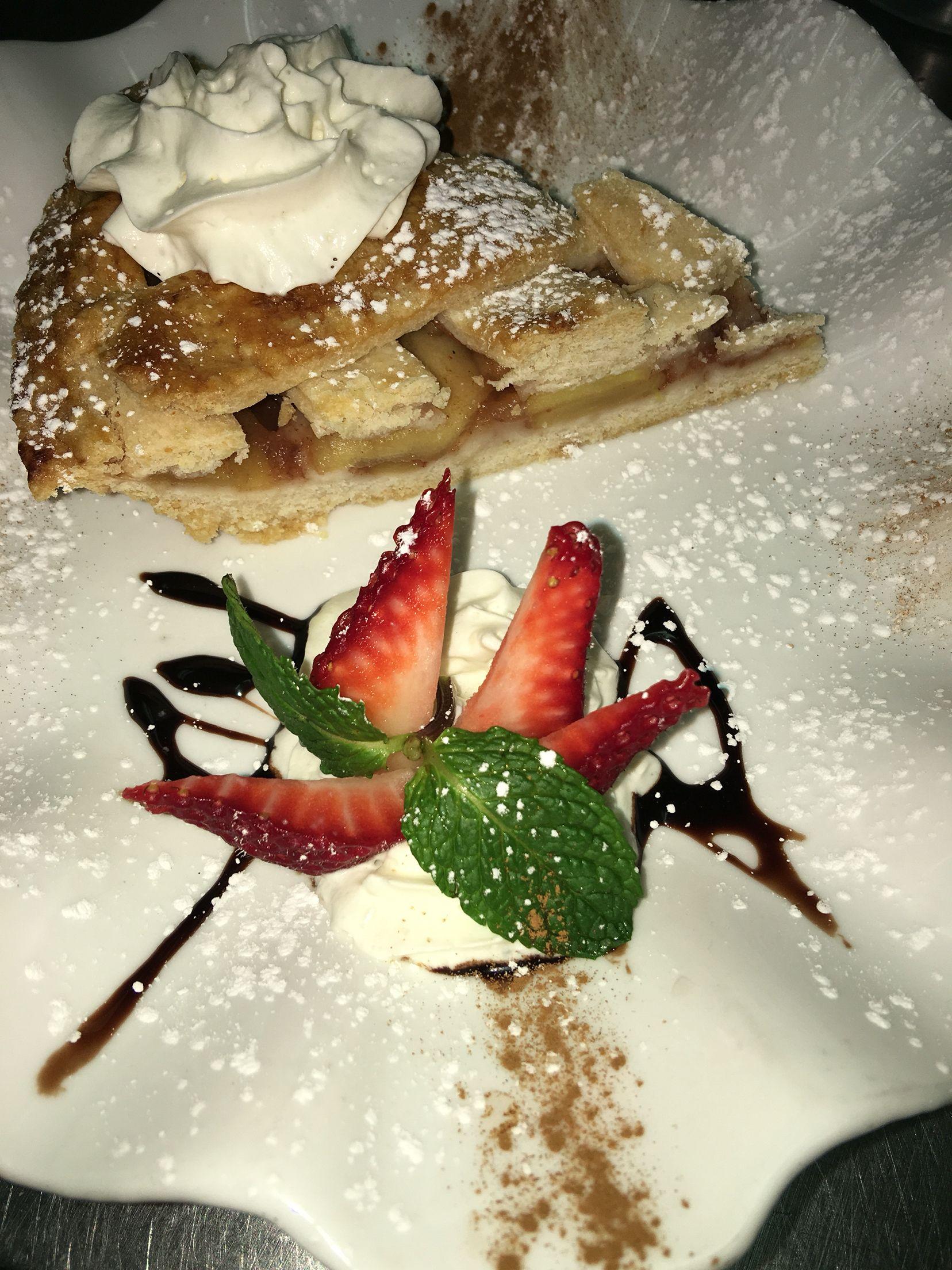 Dessert on point