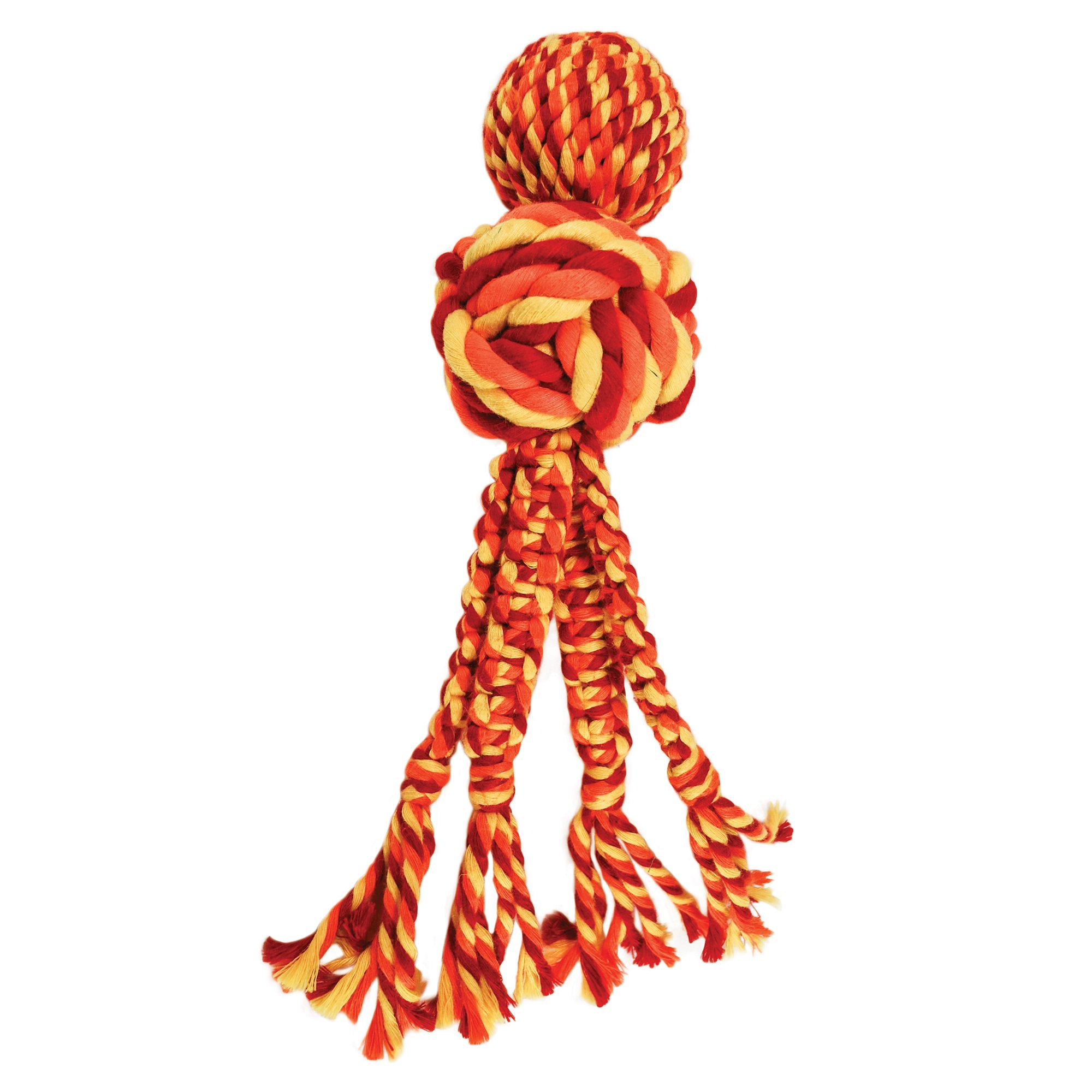 Kong Wubba Weaves With Rope Orange Toy For Dog Small With Images