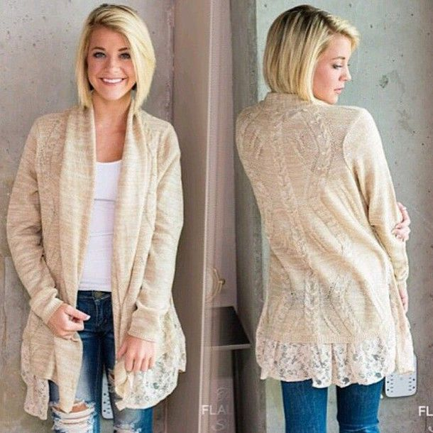 Love this #cardigan | Fashion | Pinterest | Warm fall outfits ...
