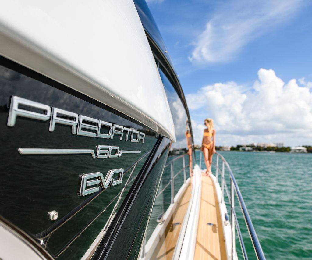 Sunseeker's New Predator 60 Evo Embodies Accelerated Evolution #60 #andreafrabetti #cannes #evo #fortlauderdale #hydro-pack #johnbraithwaite #miami #predator #robertbraithwaite #southampton #sunseeker #yachts #luxury #luxurylifestyle #luxurylife #luxurystyle #lifestyle #thexpensive