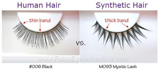 9420f1514d1 Human Hair Eyelashes vs. Synthetic Hair Eyelashes | recipes - beauty ...