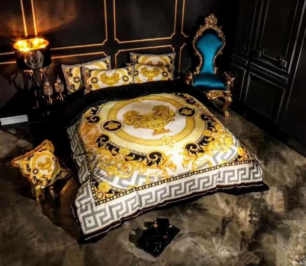 Products Elegant Bedroom Decor Versace Bedding Designer Bed Sheets