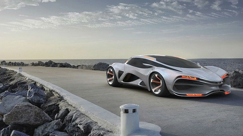 Concept Car Raven By Russian Automaker Lada