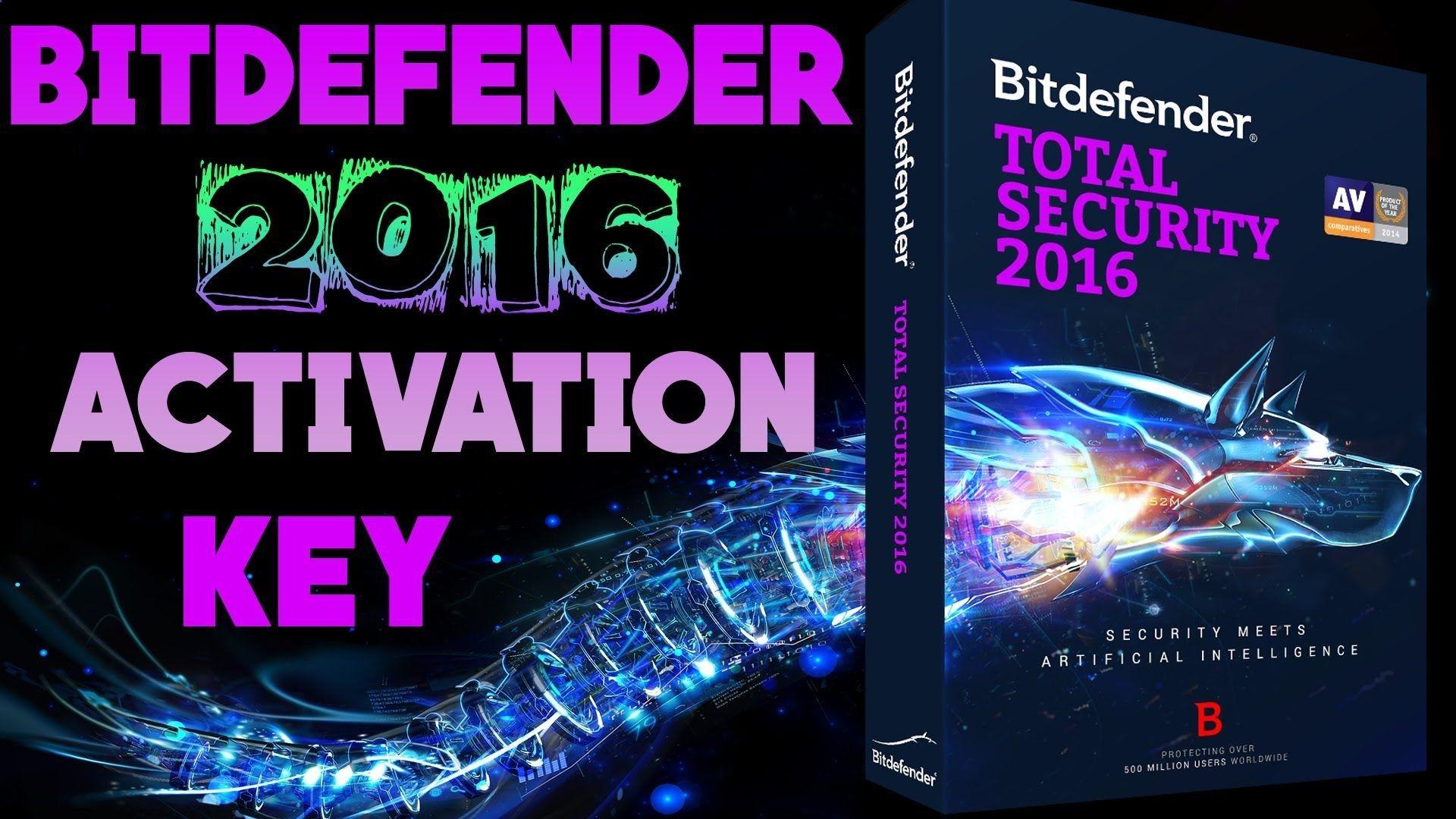 bitdefender total security 2016 keys