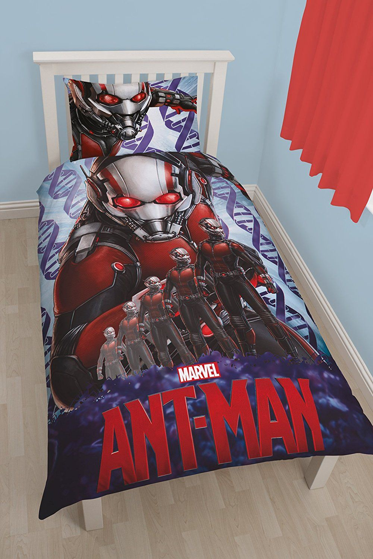 Marvel Ant Man Atom 3d Uk Single Us Twin Duvet Cover And Pillowcase