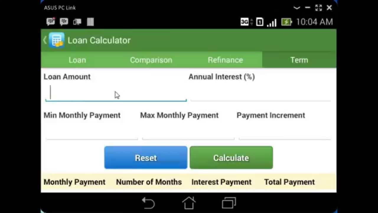 Carculator Car Lease  Car Loan Calculator  Android News