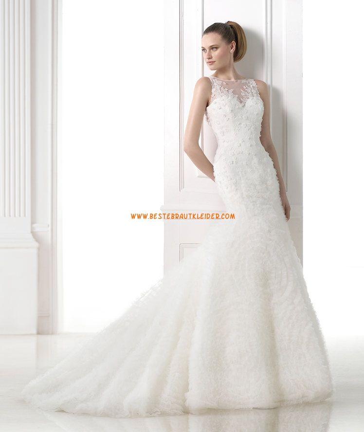 Meerjungfrau Außergewöhnliche Luxuriöse Brautkleider aus Softnetz ...