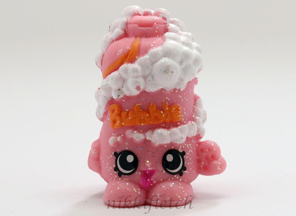 Shopkins Season 1 #1-106 Pink Bubble Tubs ULTRA RARE Glitter Finish ...
