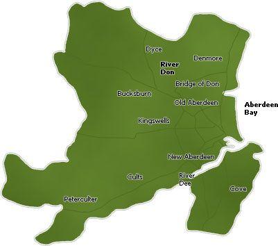 map of aberdeen | travel | Pinterest | Scotland and Edinburgh