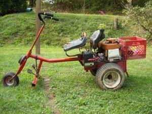 rat rod riding lawn mower - Google Search