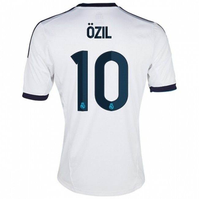 on sale 97ad9 66e9e 12/13 Real Madrid Jersey #10 Ozil Home Soccer Jersey Soccer ...