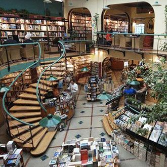 Bookshop architecture the world over - Architecture itineraries
