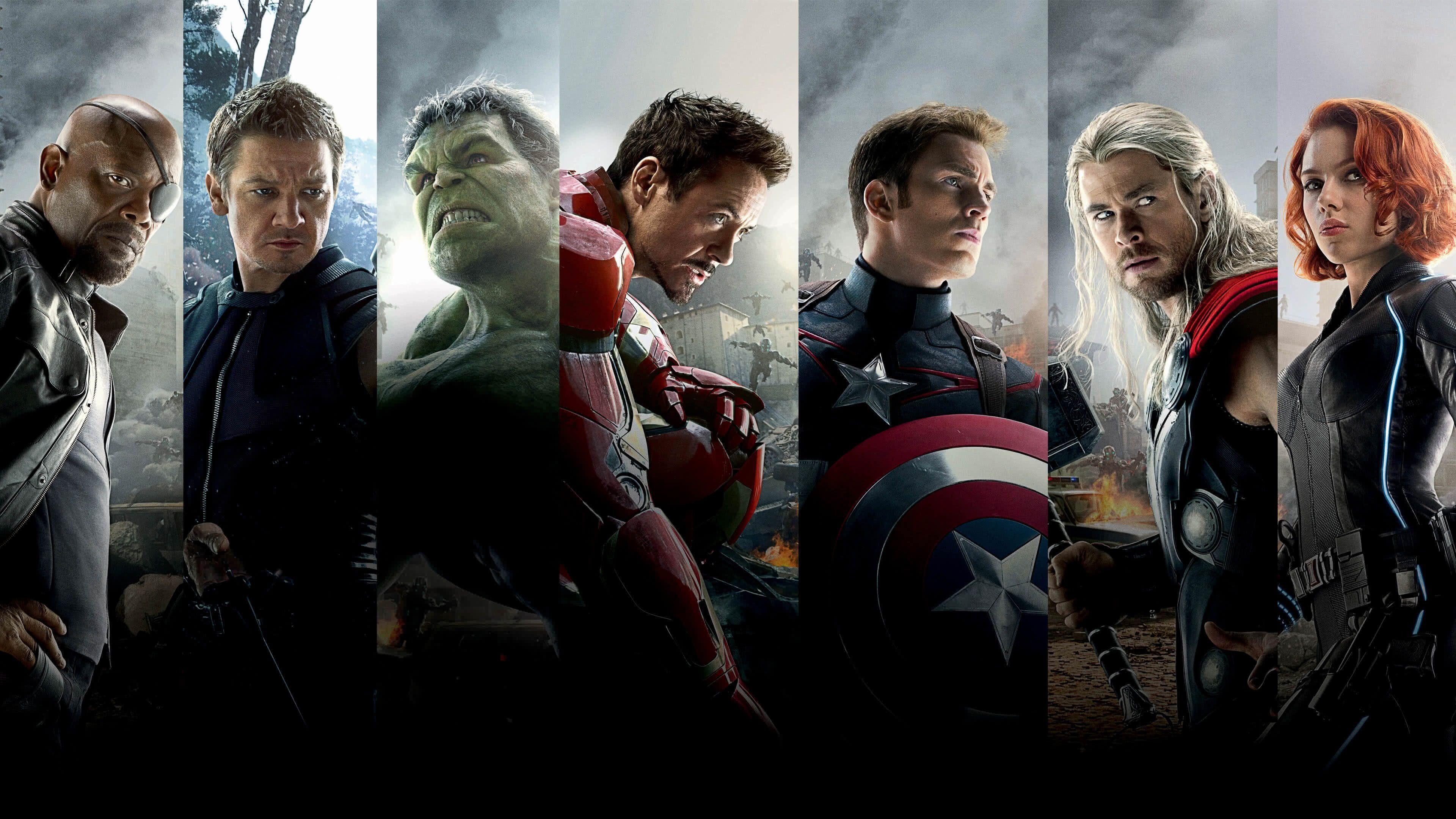 4k Marvel Wallpapers Top Free 4k Marvel Backgrounds Wallpaperaccess Avengers Age Avengers Wallpaper Avengers