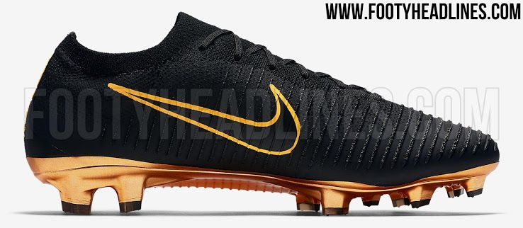f85a7bc4f35  Black   Metallic Gold  Nike Flyknit Ultra Boots Released - Footy Headlines