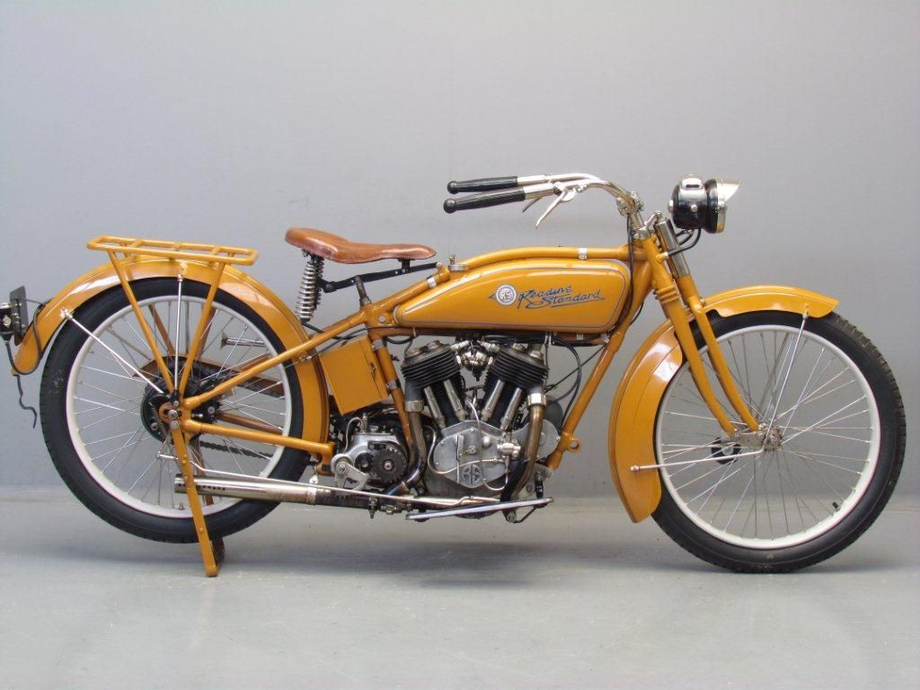 1917 Reading Standard 1100cc 2 Cyl Sv Never Owned One Of These But Would Have Liked To Classic Motorcycles Classic Bikes Old Bikes