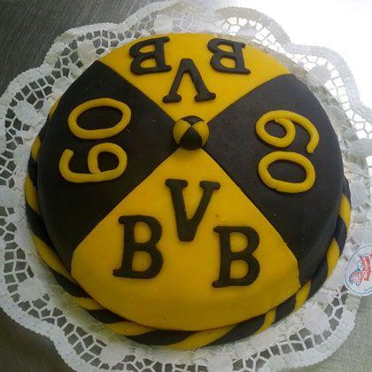 Bvb Torte Backen Cake Torte Und Dortmund