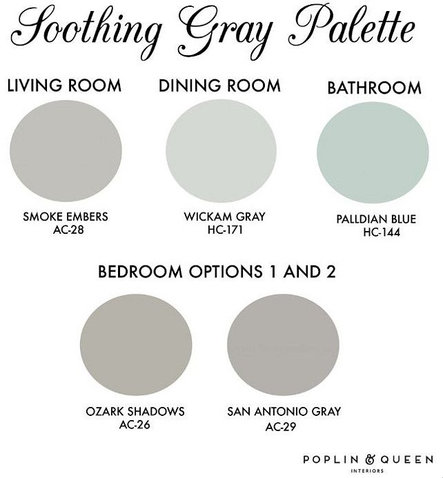 Entire Home Paint Color Ideas House Palette Benjamin Moore Smoke Embers Ac 28 Wickham Gray Palladian Blue