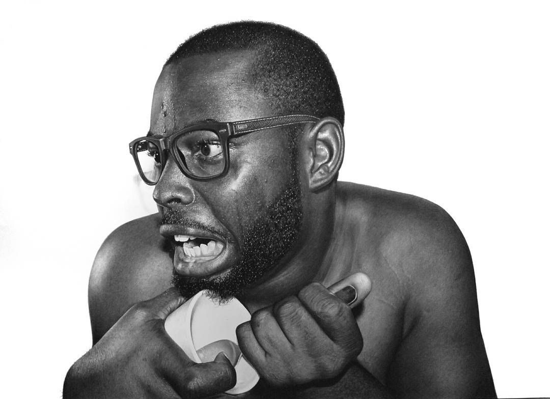 Magazine hyperreal pencil drawings by nigerian artist
