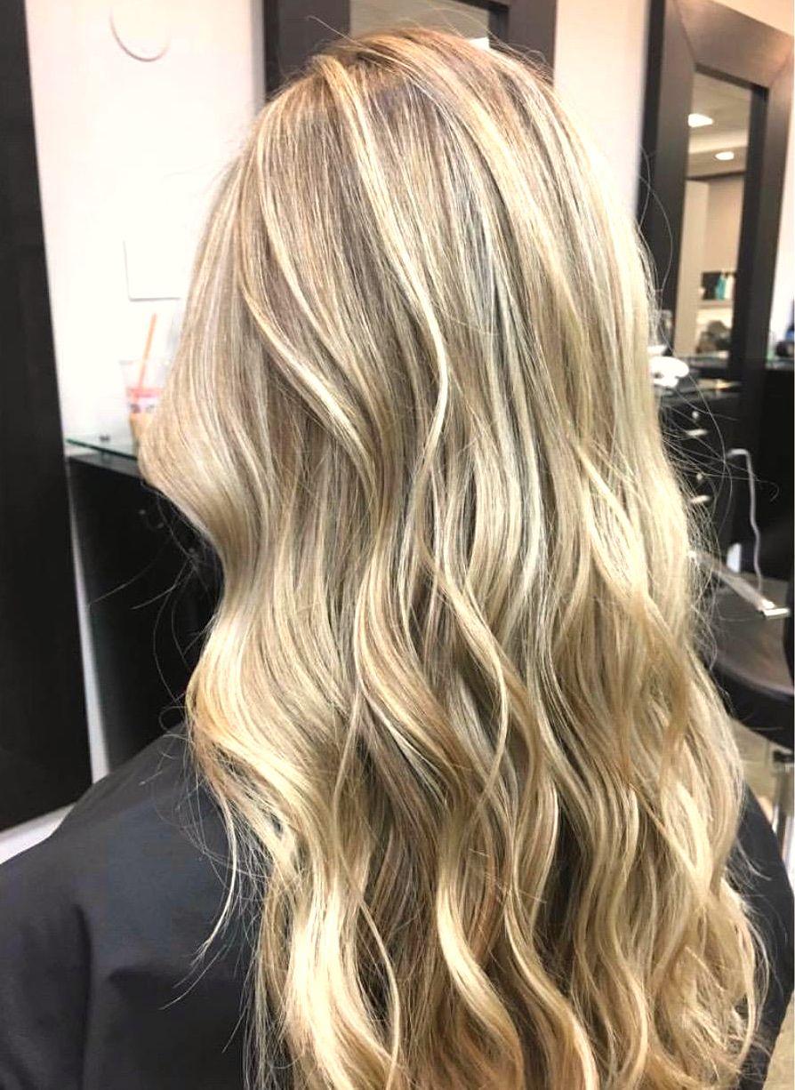 Full Foil 1 Color Blonde Foils Hair Highlights Hair Styles