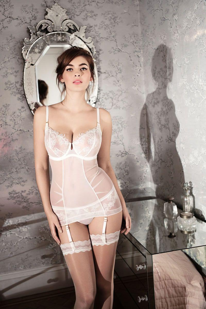 Ashley graham slips into pink bra and undies to plug sexy essentials